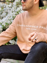 LIGHTWEIGHT SUMMER CREWNECK- SAND