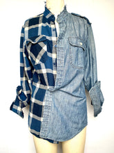Flannel and Denim Shirt