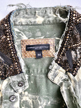 Embellished Military Shirt