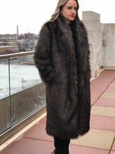 "FULL LENGTH FAUX ""PHER"" COAT"