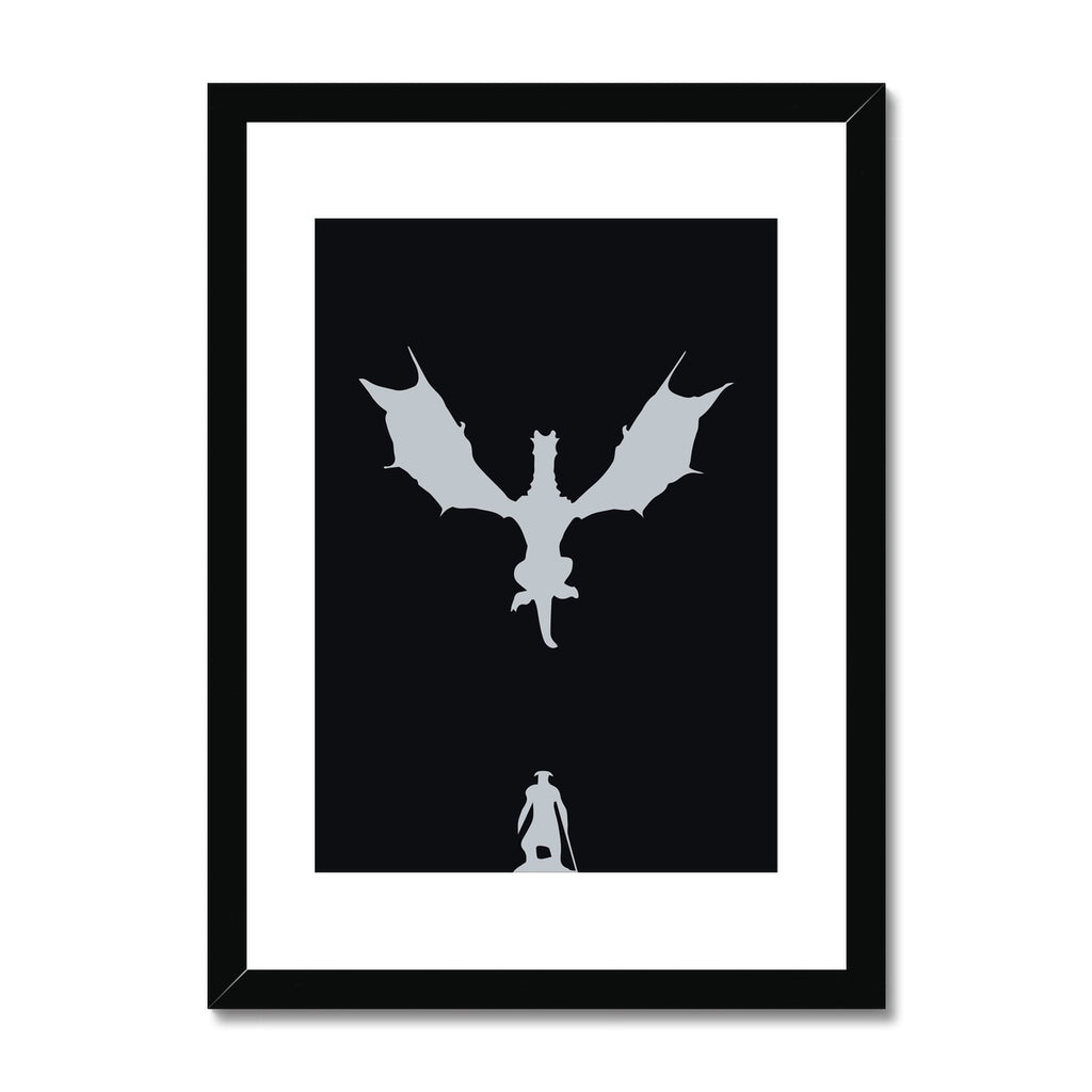 Skyrim - Framed & Mounted Print