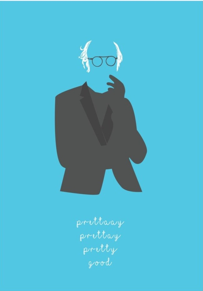 Pretty Pretty Pretty Good - Larry David Poster