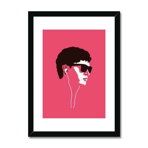 Baby Driver - Framed & Mounted Print
