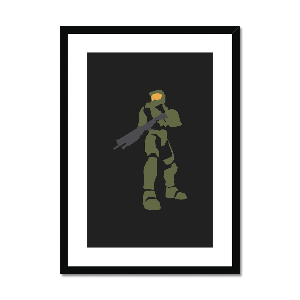 Halo - Framed & Mounted Print