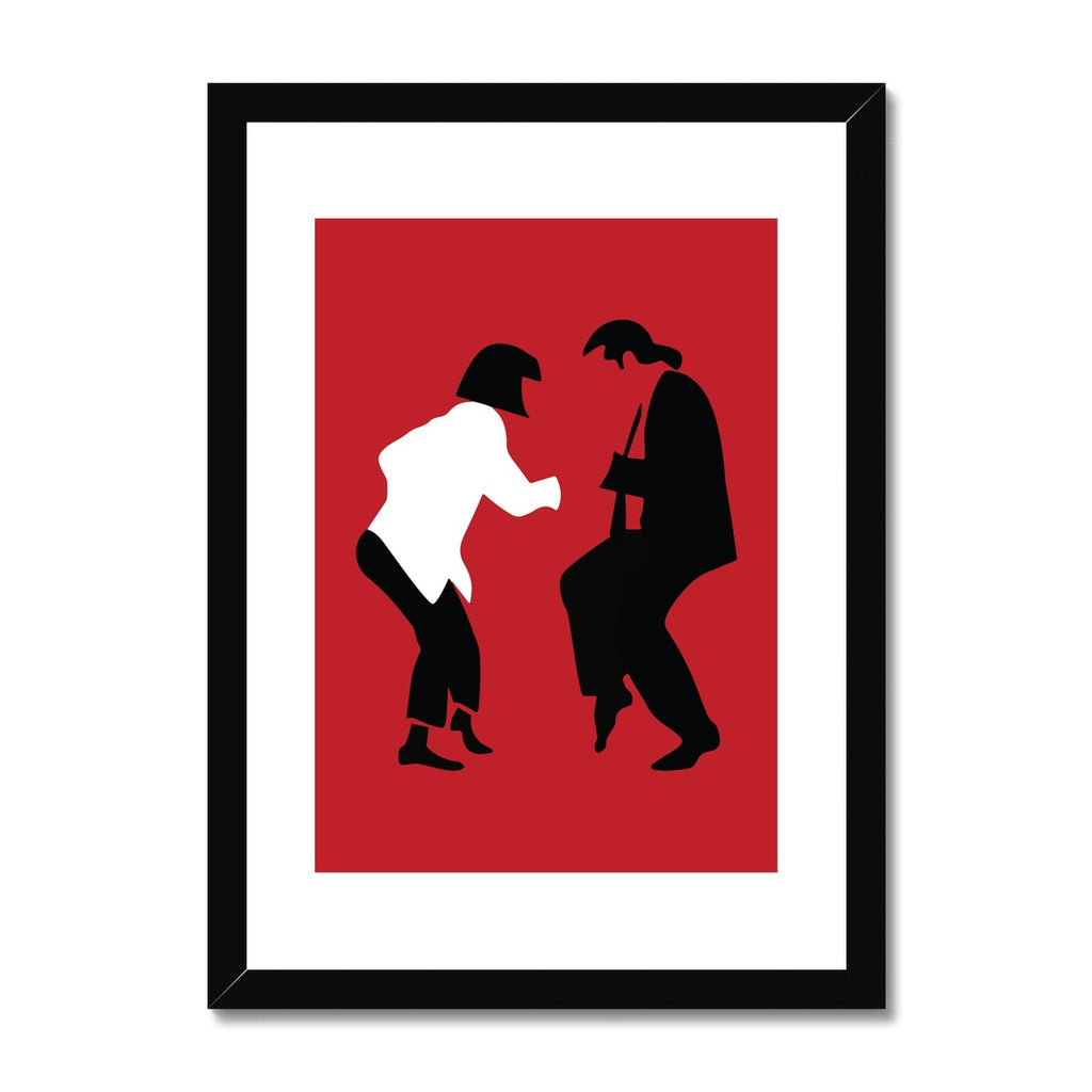 Pulp Fiction - Framed & Mounted Print