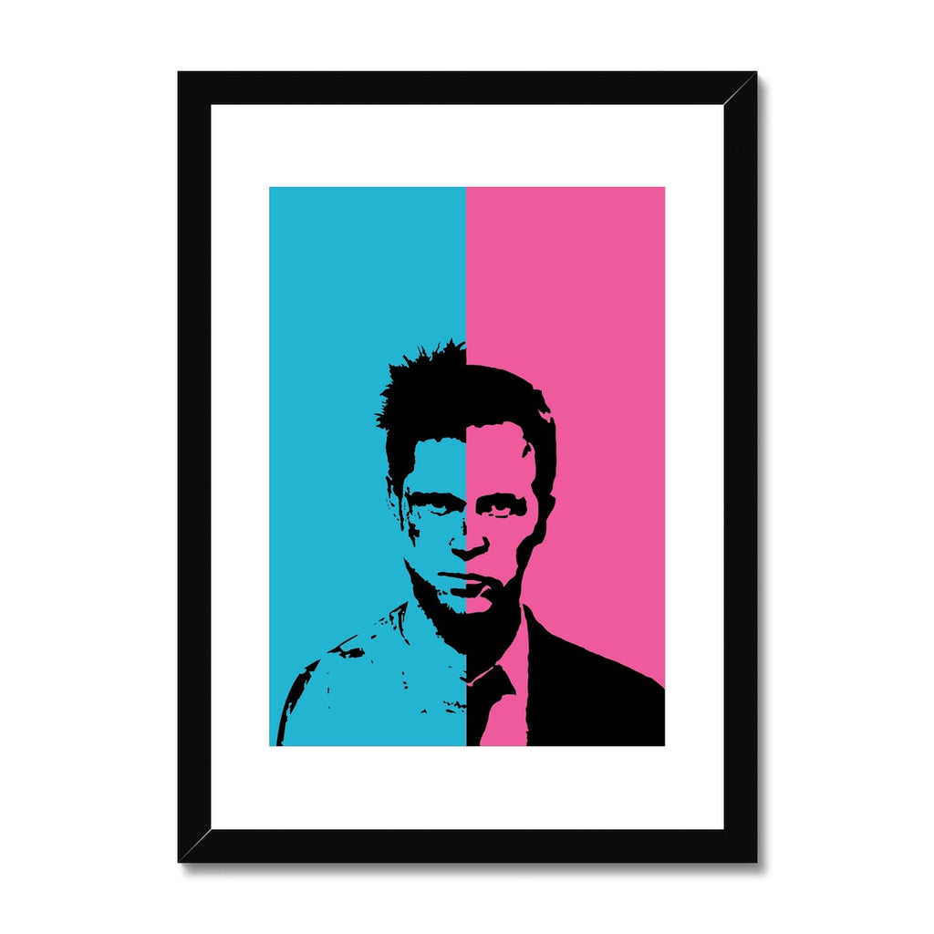Fight Club - Framed & Mounted Print