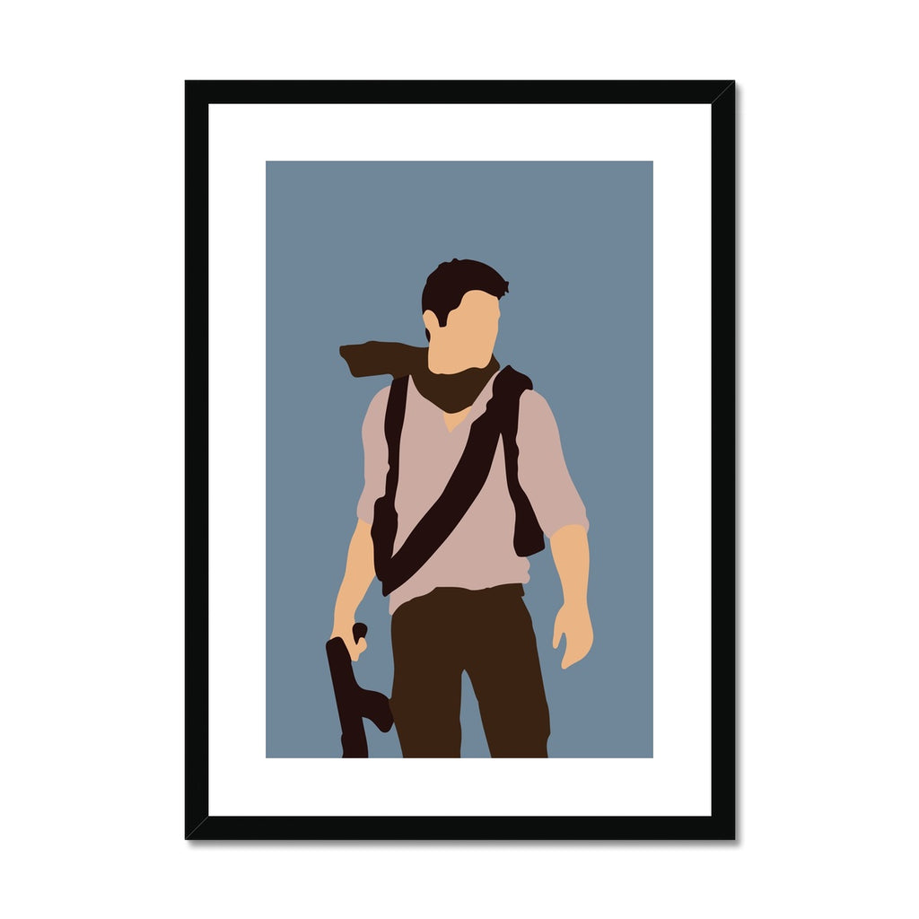 Uncharted - Framed & Mounted Print
