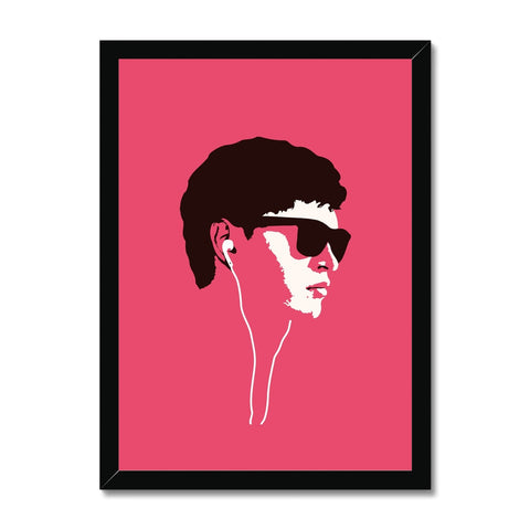 Baby Driver - Framed Print