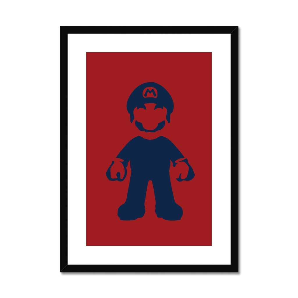Mario - Framed & Mounted Print