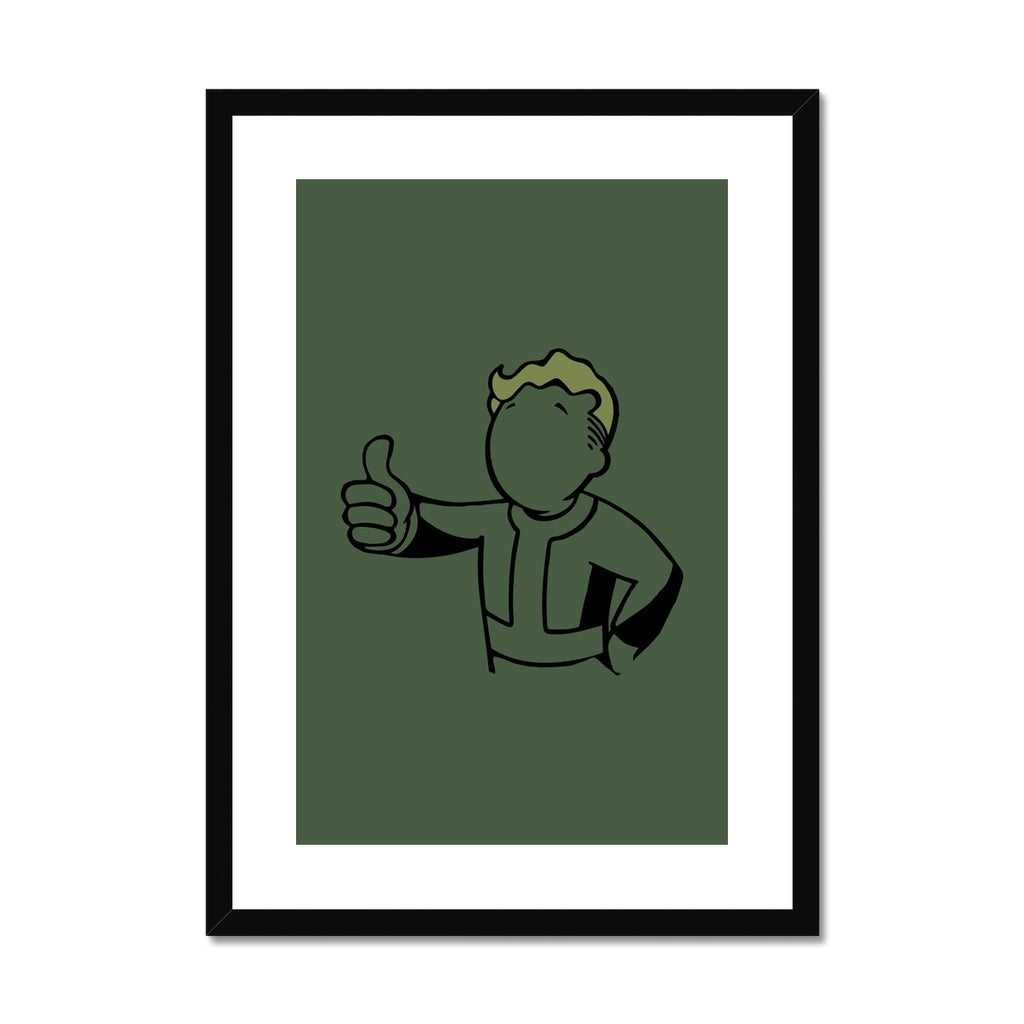 Fallout Boy - Framed & Mounted Print