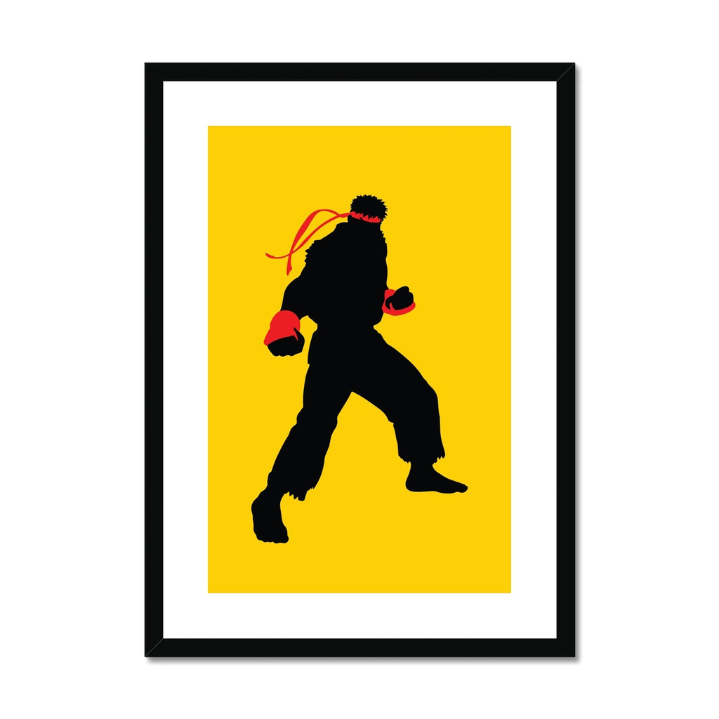 Street Fighter - Framed & Mounted Print