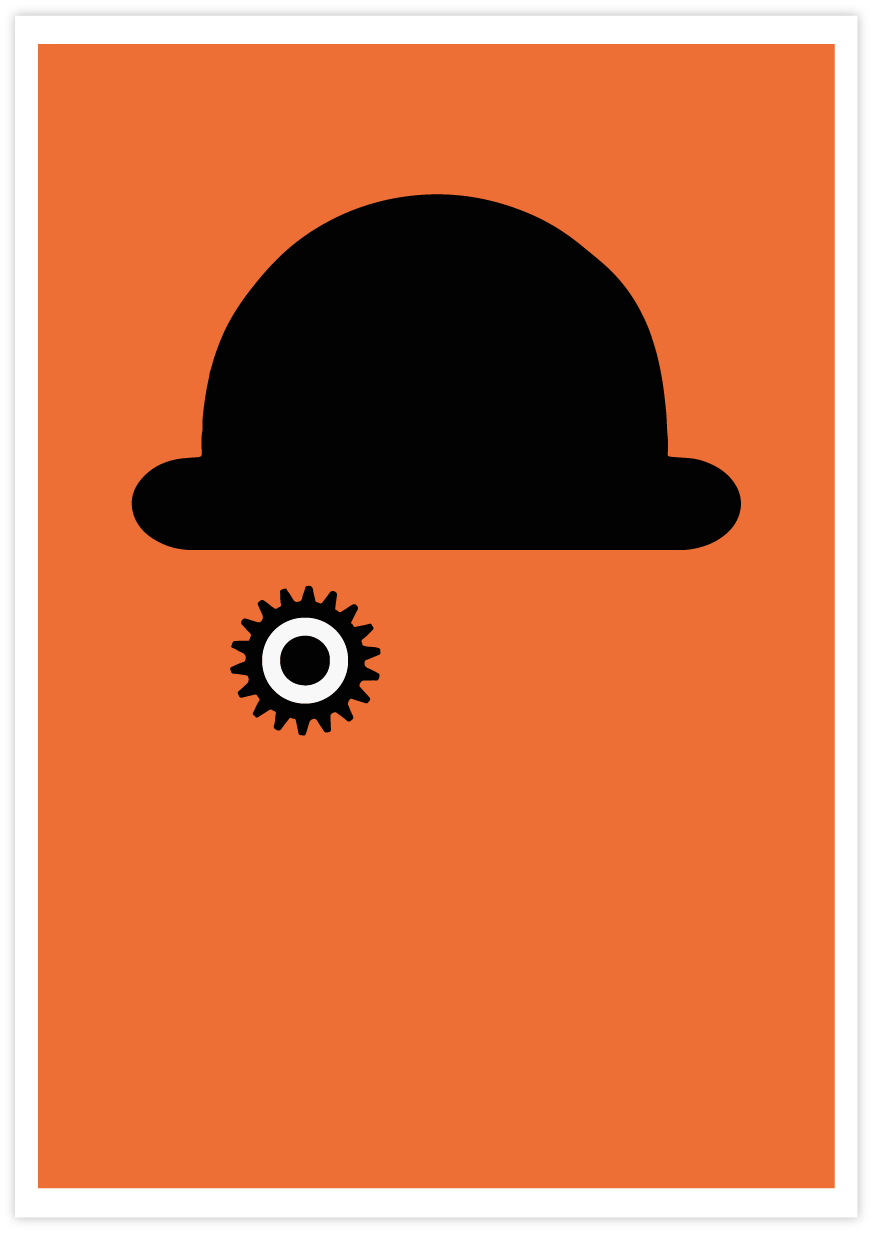 A Clockwork Orange Minimal Poster
