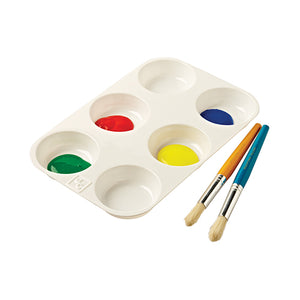 6-Well Paint Palette