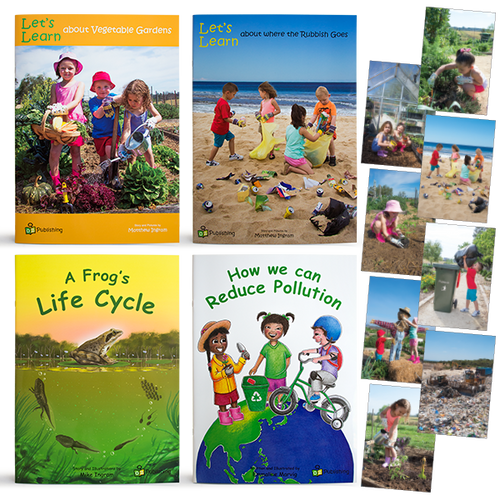 Set of all 4  Big Books - With FREE 'Caring for our Planet' Poster Kit