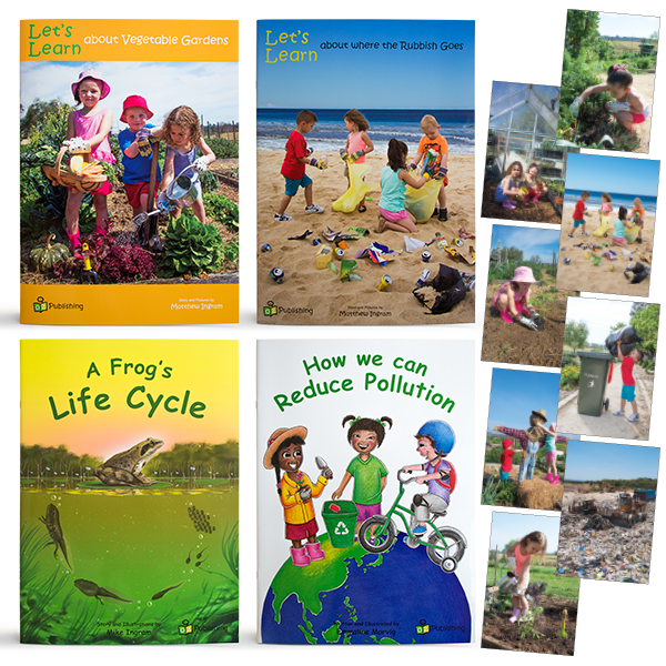 Set of all 4  Big Books - With FREE 'Caring for our Planet' Poster Pack