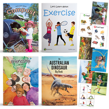 Set of 4 Big Books - With FREE Compost AND Exercise Poster Kit