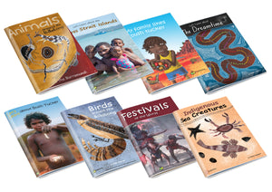 Indigenous Big Book VALUE PACK of 8
