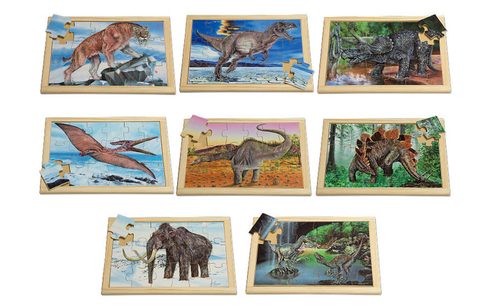 Large Prehistoric Puzzle Set with FREE Posters