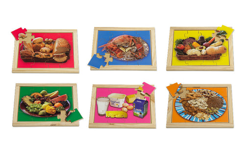Small Healthy Food Puzzle Set