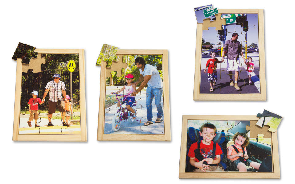 Road Safety Puzzle Set