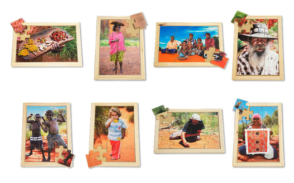 Aboriginal People Puzzle Set with FREE Posters