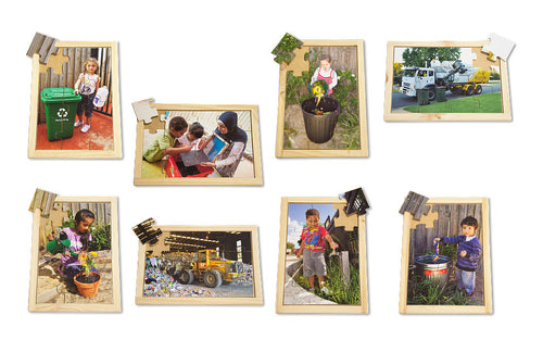 Recycling Puzzle Set