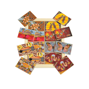Aboriginal Art Memory Game