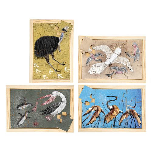 Indigenous Birds Puzzle Set with FREE Posters