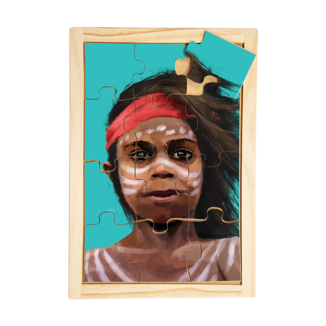 Aboriginal Traditional Boy Puzzle