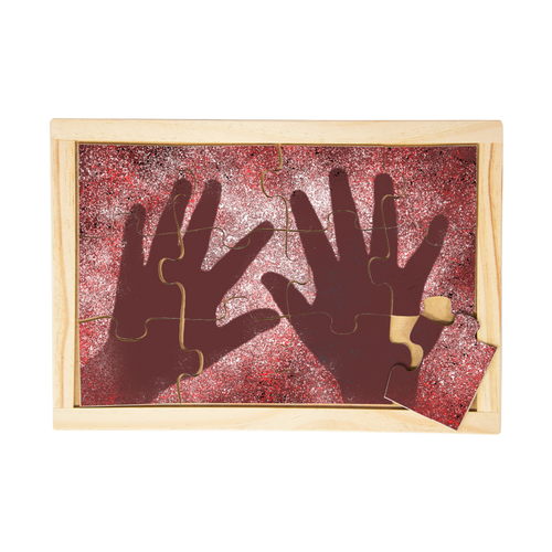 Aboriginal Traditional Hands Puzzle
