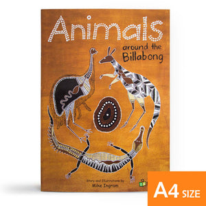 Animals around the Billabong Small Book