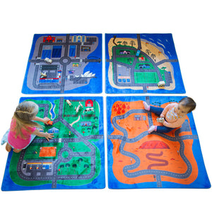 Australian Road Mat Set of 4