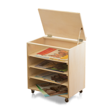 Big Book Base (book easel storage unit)