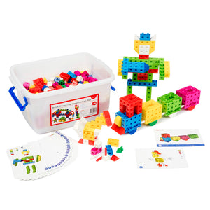 Brick Classroom Construction Set of 550