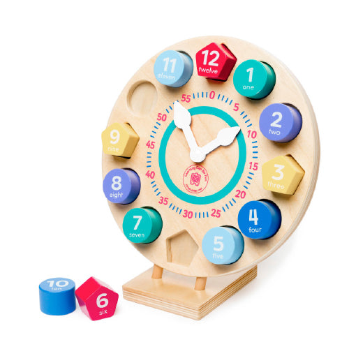 Colour and Shapes Clock