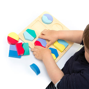 Colour and Shape Matching Board