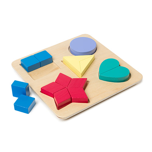 Colour and Shape Puzzle Board