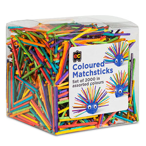 Coloured Matchsticks