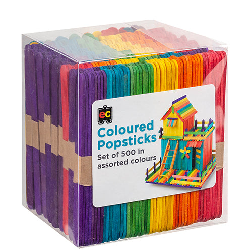 Coloured Popsticks