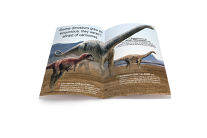 Land of the Dinosaurs Medium Book