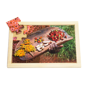 Collecting Bush Tucker Puzzle