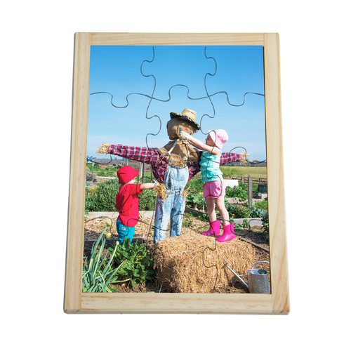 Making a Scarecrow Puzzle