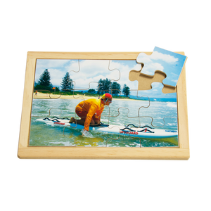 Life Saver on Surf Ski Puzzle
