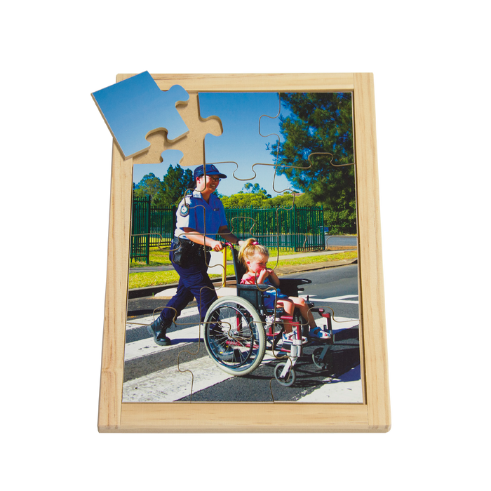 Police and Wheelchair Puzzle