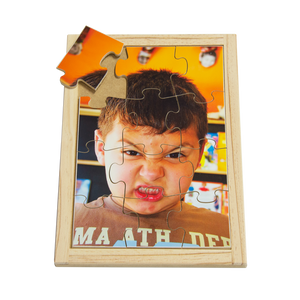 Angry Boy Puzzle