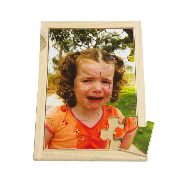 Crying Girl Puzzle