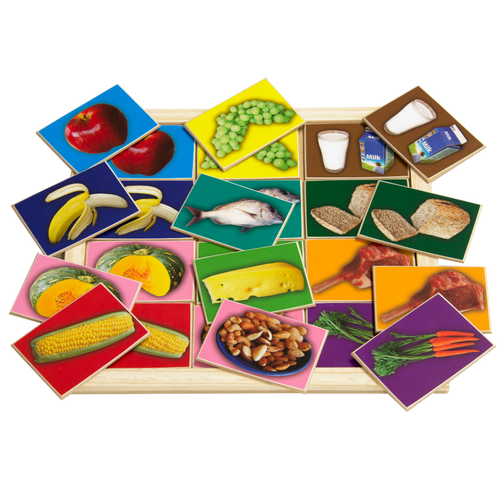 Healthy Food Large Memory Game