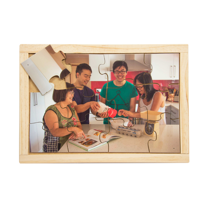 Asian Family Baking Puzzle