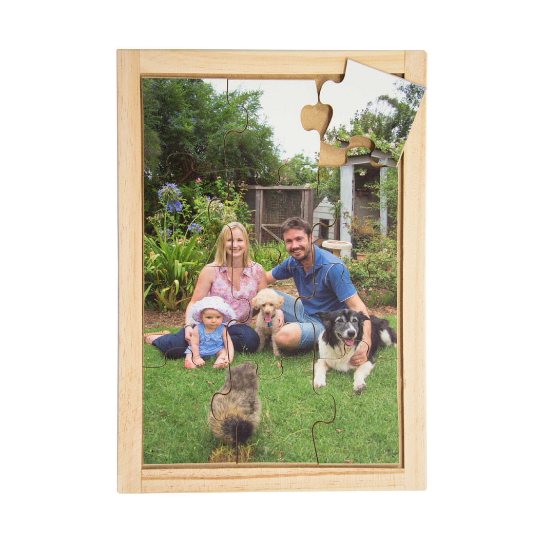 Family with Pets Puzzle