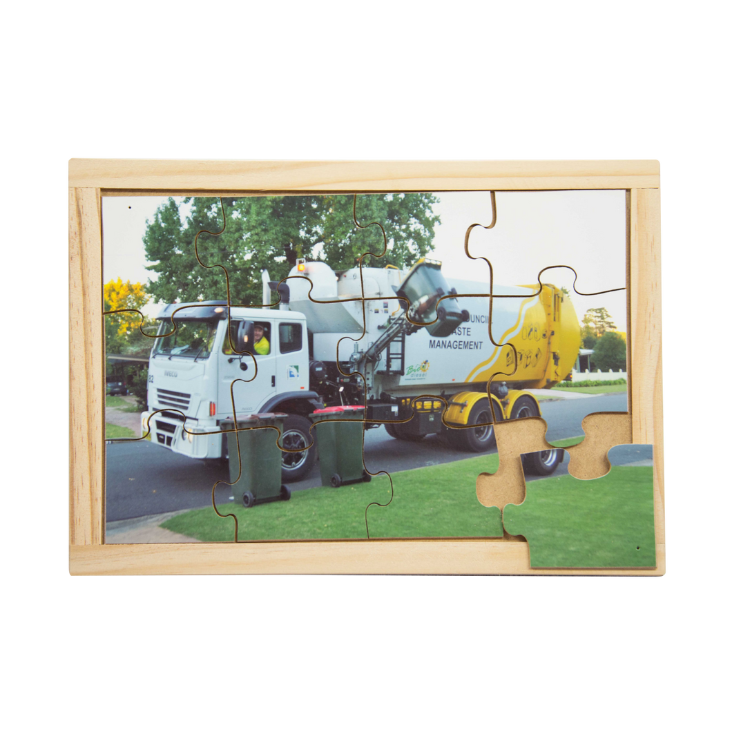 Recycling Truck Puzzle
